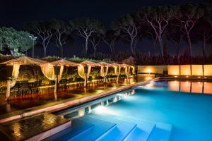 location con piscina per feste aziendali a roma